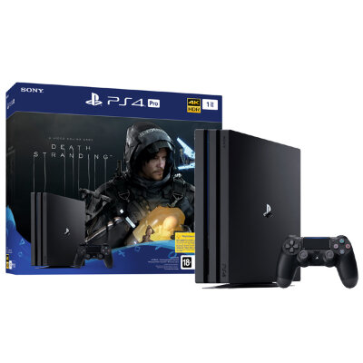 Игровая консоль PlayStation 4 Pro 1TB + Death Stranding