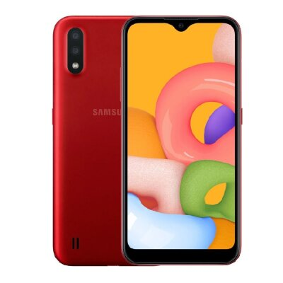 Смартфон Samsung Galaxy A01 16Gb Red (SM-A015F)