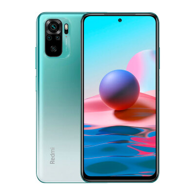 Смартфон Xiaomi Redmi Note 10 4/64Gb Aqua Green