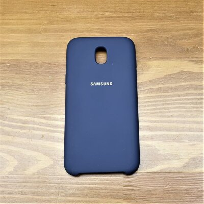 Чехол Samsung Galaxy J5 2017 Silicone Case Midnight Blue