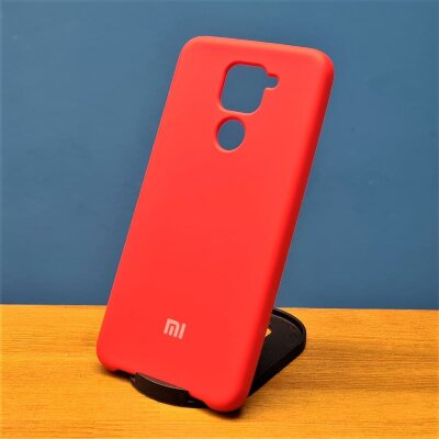 Накладка для Redmi Note 9 Silicone Cover Red