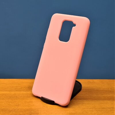 Накладка для Redmi Note 9 Silicone Cover Light Pink