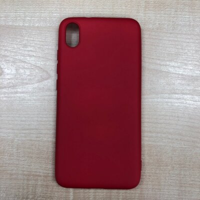 Накладка для Xiaomi Redmi 7A Silicone Case Red