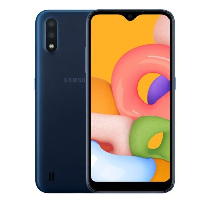 Смартфон Samsung Galaxy A01 16Gb Blue (SM-A015F)