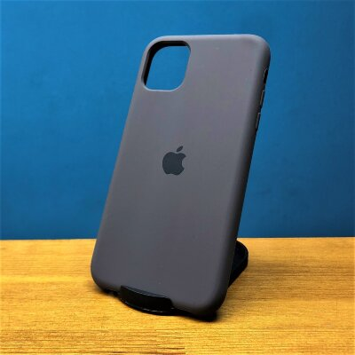 Накладка для iPhone 11 Silicone Cover Brown