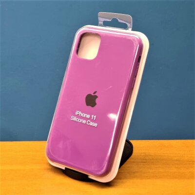 Накладка для iPhone 11 Silicone Cover Purple