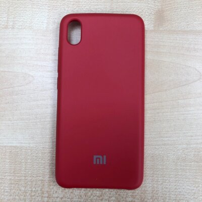Накладка для Xiaomi Redmi 7A Silicone Cover Red