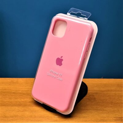 Накладка для iPhone 11 Silicone Cover Pink