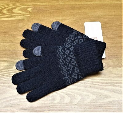 Перчатки Xiaomi Touchscreen Winter Wool Gloves Черный (ST20190601)