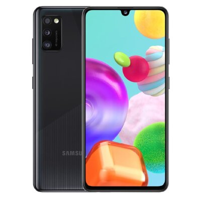 Смартфон Samsung (A415F) Galaxy A41 64Gb Черный